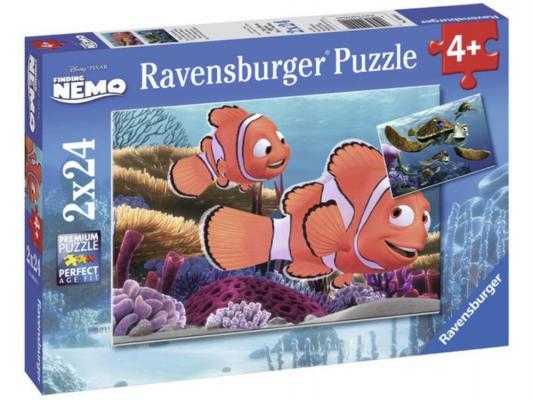Купить Пазлы для детей   Пазл «Приключения Немо» 2х24шт Ravensburger 9044