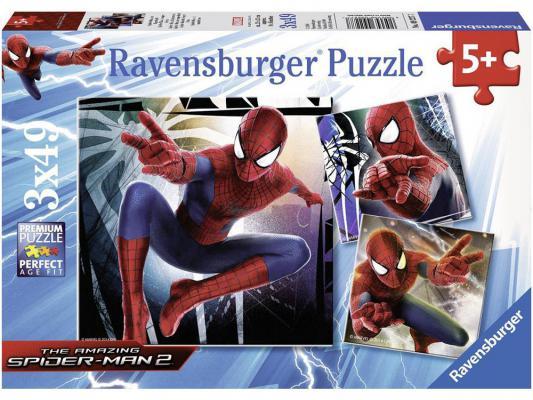 Купить Набор пазлов Ravensburger Человек-паук 147 элементов 9227, Пазлы для малышей