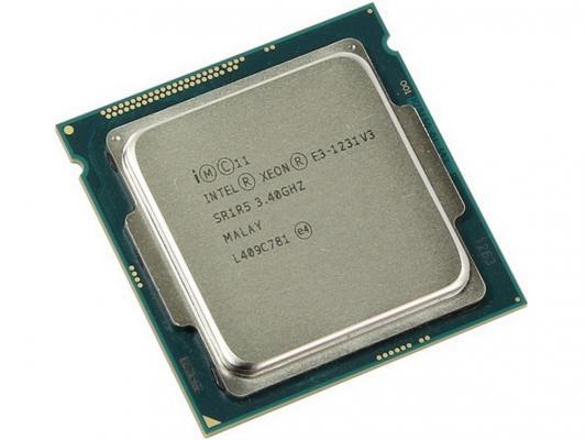 Процессор Intel Xeon E3-1231v3 3.4GHz 8Mb LGA1150 BOX