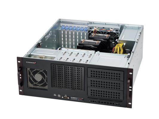 Серверный корпус Supermicro CSE-842I-500B 4U ATX 5x3.5'' 500Вт черный