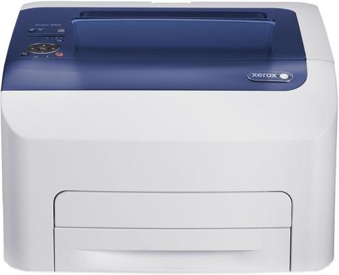 Принтер Xerox Phaser 6022 V NI цветной A4 18ppm 1200х2400 Ethernet USB цена