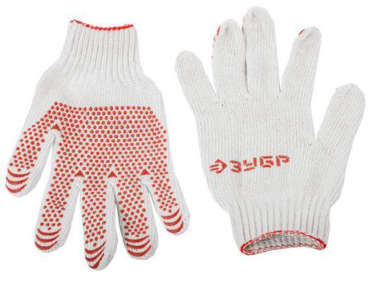 Перчатки Зубр МАСТЕР трикотажные 7 класс L-XL 10шт 11392-K10 перчатки stayer master трикотажные 13 класс l xl 11409 h10