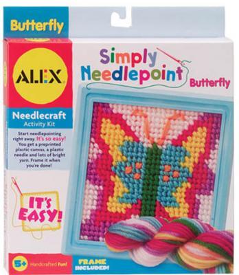 """Набор для вышивания Alex """"Бабочка"""" с пласт.тупой иглой от 5 лет 731346039514"""