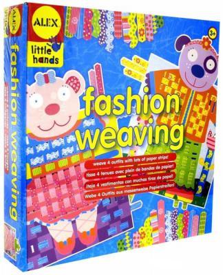 Набор для плетения из бумаги Alex Наряди зверюшек от 3 лет 731346142603