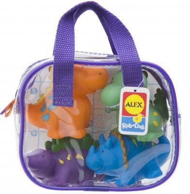 Интерактивная игрушка Alex Динозаврики до 1 года разноцветный