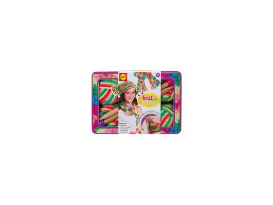 Набор для вязания Alex Разноцветные шарф и шапочка от 7 лет 182T набор для вязания крючком alex