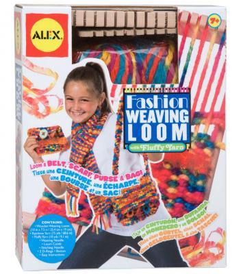 Подробнее о Игровой набор ALEX Ткацкий станок 4 предмета 27WN alex ткацкий станок