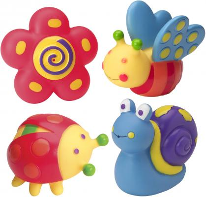 Набор игрушек для ванны ALEX Сад 700GN пластмассовая игрушка для ванны alex чашки уточки