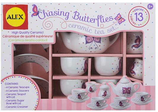 Чайный набор Alex Поймай бабочку 709BW alex чайный сервиз бабочки в саду