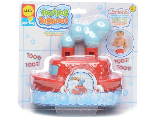 Интерактивная игрушка Alex Гудящий пароходик от 2 лет разноцветный