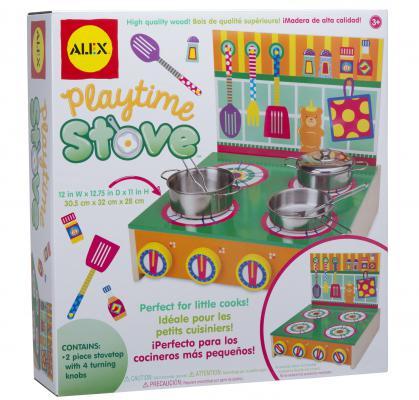 Игровой набор ALEX Кухонная плита деревянная 704