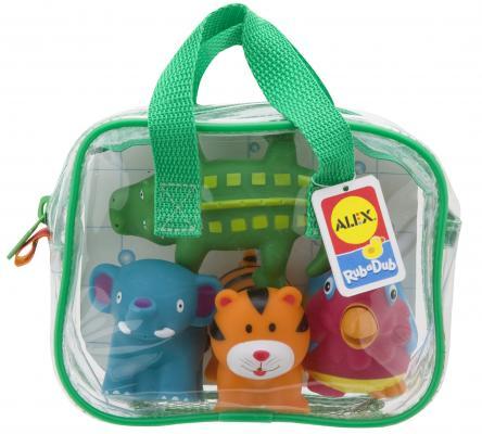 Интерактивная игрушка Alex Джунгли до 1 года разноцветный