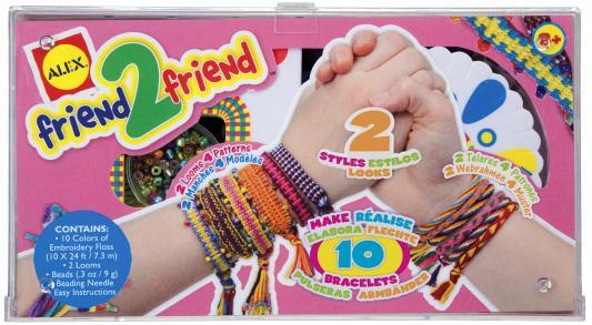 "Набор для плетения браслетов "" Дружба"" с 2-мя станками, от 8 лет"