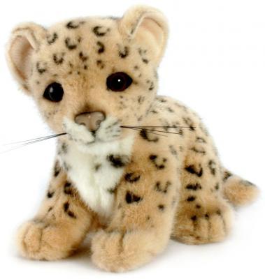 Мягкая игрушка Hansa Детеныш леопарда искусственный мех разноцветный 18 см 3423