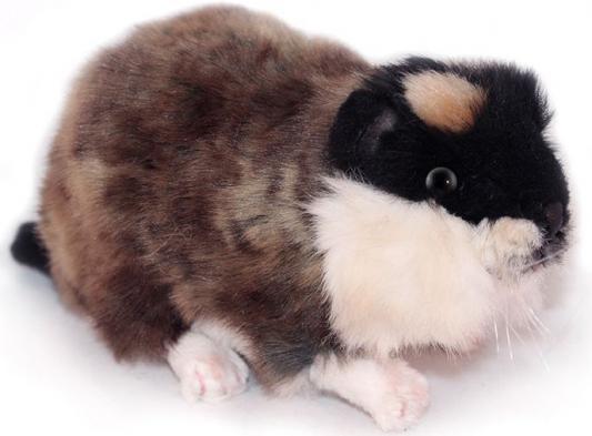 Мягкая игрушка морская свинка Hansa Норвежский лемминг искусственный мех коричневый 16 см мягкие игрушки hansa норвежский лемминг морская свинка 16 см