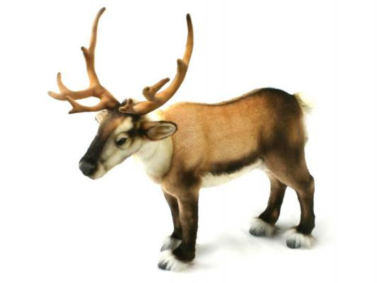 Мягкая игрушка олень Hansa Северный искусственный мех коричневый 50 см 4589 мягкая игрушка собака hansa йоркширский терьер искусственный мех коричневый 36 см 5909