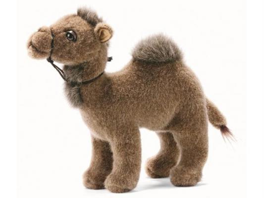 Мягкая игрушка верблюд Hansa 3963 искусственный мех коричневый 22 см