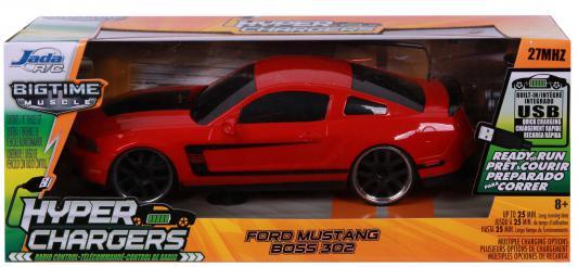 Машинка на радиоуправлении JADA TOYS 2012 Ford Mustang Boss 302 пластик от 8 лет красный