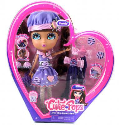 Игровой набор Jada Toys Кьюти Попс Делюкс. Кукла Кармель с аксессуарами 28 см 96596