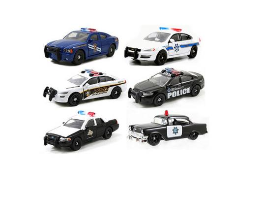 Полицейская машина Jada Toys Here Patrol Assortment разноцветный 1 шт н/д 14016-W6 в ассортименте jada diekast here patrol assortment 1 64