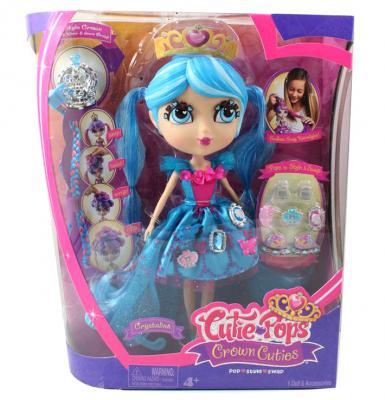 Игровой набор Jada Toys Кьюти Попс - Принцессы. Кукла Кристалина 27 см