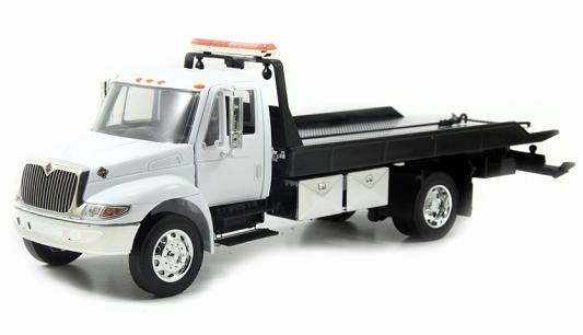 Автомобиль Jada Toys International Flat Bed Tow Truck Durastar 1:24 белый 92351