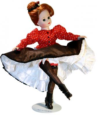 Кукла Madam Alexander Танцовщица Мулен Руж 25 см 64365 платье madam t madam t ma422ewwzb30