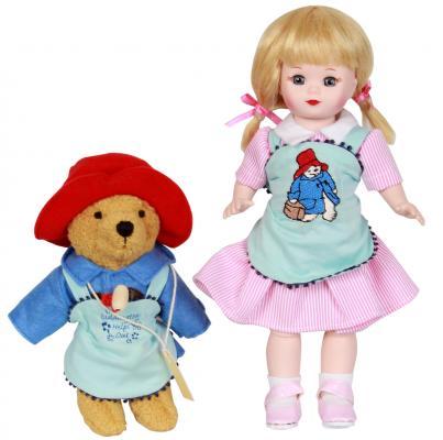 Кукла Madam Alexander Мэри и медвежонок Паддингтон 20 см 65065