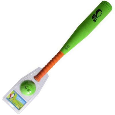 Спортивная игра SAFSOF семейная бита бейсбольная малая safsof игровой набор бейсбольная бита и мяч цвет зеленый желтый