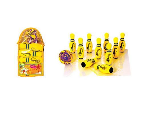 Игра мини-боулинг в сумке 210мм jBB-01-1( B ) цвет в ассортименте