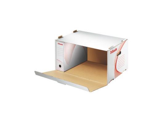 Архивный короб Esselte Standart c крышкой 128910 короб архивный esselte standart 128910 картон с крышкой