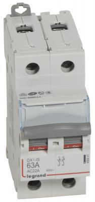 Выключатель-разъединитель Legrand DX3 2П 63A 406441