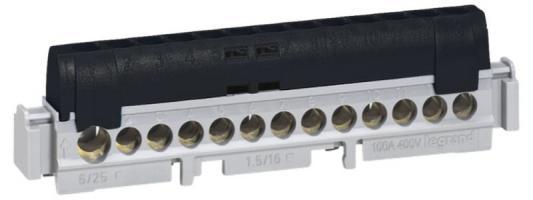 Клеммная колодка Legrand 12х1.5-16мм /фаза 4854