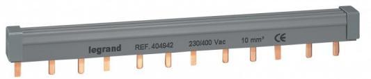Купить Гребенка распределительная Legrand 3П 12 модулей 10мм2 404942