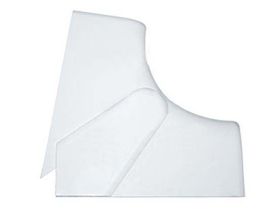 Угол Legrand внутренний переменный 80°-100° 150x65мм белый 10603