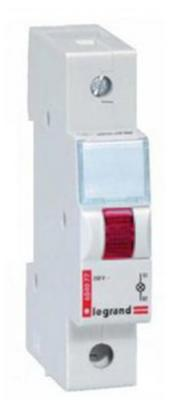 Индикатор Legrand моноблочный с незаменяемой лампой 230В красный 604078