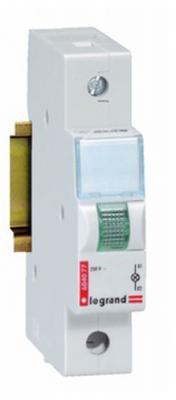 Индикатор Legrand моноблочный с незаменяемой лампой 230В зеленый 604077
