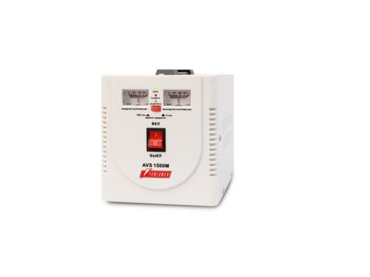 Стабилизатор напряжения Powerman AVS-1500M 1500VA белый