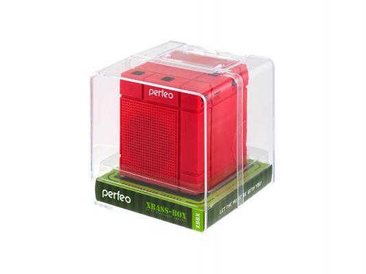 Портативная акустика Perfeo Xbass-Box PF-XBBX красный