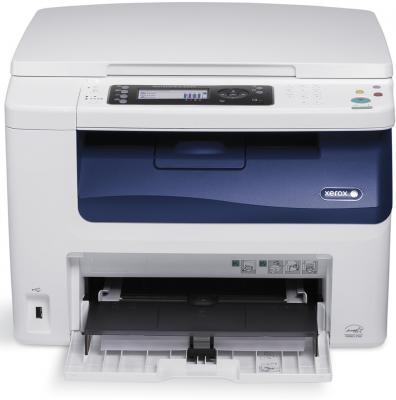 МФУ Xerox WorkCentre WC6025V/Bi цветное A4 12/10ppm 2400x1200dpi Wi-Fi USB мфу xerox workcentre 3215ni ч б а4 27ppm автоподатчиком lan wi fi