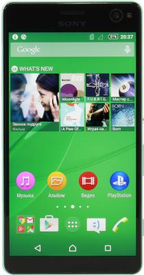 "Смартфон SONY Xperia C4 Dual зеленый 5.5"" 16 Гб LTE GPS Wi-Fi NFC E5333"