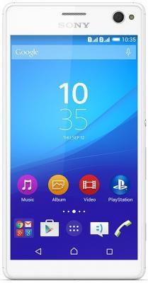 "Смартфон SONY Xperia C4 Dual белый 5.5"" 16 Гб NFC LTE GPS Wi-Fi E5333"