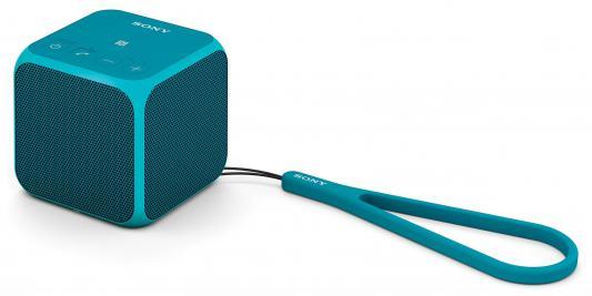 Портативная акустика Sony SRS-X11L bluetooth 10Вт синий
