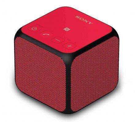 Портативная акустика Sony SRS-X11R bluetooth 10Вт красный