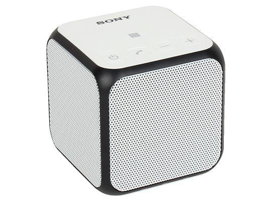 Портативная акустика Sony SRS-X11W bluetooth 10Вт белый