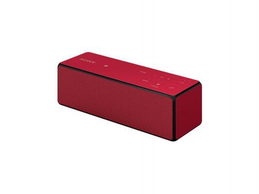 Портативная акустика Sony SRS-X33R bluetooth 20Вт красный