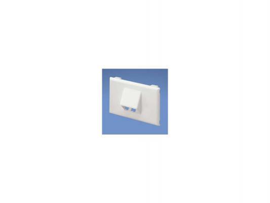 Лицевая панель Panduit T70FH2AW T70 2 модуля горизонтальная белый