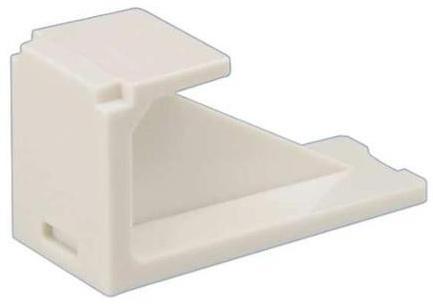 Заглушка гнезда Panduit CMBAW-X для модульных патч-панелей белый 10шт