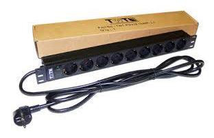 Блок розеток Lanmaster TWT-PDU19-16A9P-3.0 вертикальный 8 розеток базовые 10A C14 irf740 irf740pbf 400v 10a to220