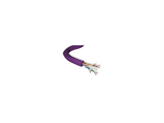 Кабель Brand-Rex UTP кат.6 информационный внутренний 500м AC6U-HF1-500VT кабель информационный brand rex ac6 dcz eca rlx 305vt кат 6а u ftp инд экран пар lszh внутренний 305м фиолетовый